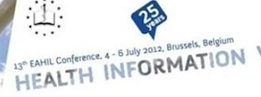 13ª Conference EAHIL Health Information Without Frontiers